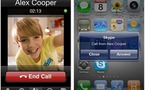 Skype - Bientôt de la visio pour l'iPhone ?