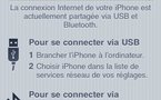 Bouygues Telecom débloque l'option Tethering de l'iPhone