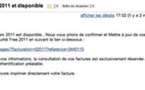 Attention au Phishing pour FreeBox dans vos mails