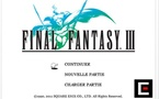 Final Fantasy III disponible sur iOS