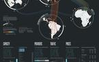 La carte mondiale d'Internet 2011