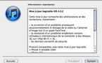 Télécharger iOS 4.3.2 pour iPhone, iPod Touch et iPad