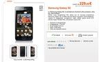 Le Samsung Galaxy S 2 en vente chez Orange