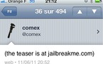 JailbreakMe pour le Jailbreak de l'iPad 2 by Comex