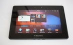 Notre test de la Blackberry Playbook