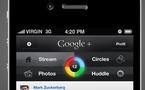 Google Plus sur iPhone comme j'aimerais le voir