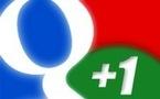 Le bouton +1 permettra le partage sur Google Plus