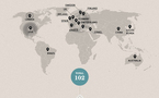 Google - 102 acquisitions entre 2001 et 2011 (infographie)