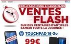 La Touchpad à 99 € chez Surcouf samedi 10 septembre