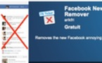 Comment supprimer Facebook Ticker