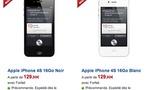iPhone 4S chez SFR à partir de 129,90 €