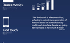 Steve Jobs - Ses 11 plus grosses annonces en 1 image