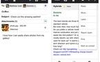 Gmail pour iPhone, iPad - Départ manqué