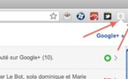 Intgration de Google+ dans Google Chrome