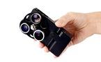 iPhone Lens Dial - 3 objectifs photo en 1 pour iPhone