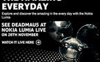 Lumia Live - Nokia va illuminer la Millbank Tower le lundi 28 novembre