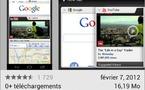 Google Chrome pour Android est disponible