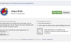 Angry Birds sur Facebook, c'est parti