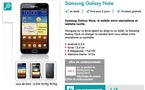 Sosh propose le Samsung Galaxy Note à 359€