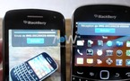 Blackberry Tag - Test vidéo du transfert par NFC