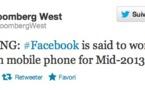 Le Facebook Phone de HTC pour Juin 2013