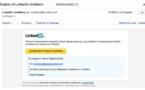 Attention aux faux mails via LinkedIn, c'est du phishing