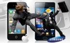 Apple vs Samsung - 3 mobiles de Samsung sont tirés d'affaire