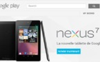 La Google Nexus 7 disponible  199  sur Google Play