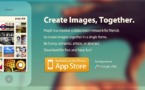 Pixplit - Un savant mlange d'Instagram et Pinterest collaboratif sur iPhone #LeWeb12