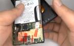 Le Lumia 920 en pièces détachées