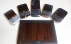 Blackberry - Photo de famille avant Blackberry 10