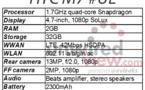 HTC M7 - pour le CES 2013 ? ...  Plutôt au MWC