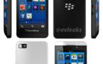 Le Blackberry Z10 blanc et noir se dévoile en photos