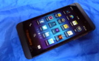 Blackberry Z10 - Arretons de tirer  vue sur Blackberry