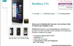 Blackberry Z10 - Disponible chez SOSH et Orange
