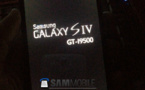 Samsung Galaxy S4 - Une photo, un Snapdragon 600 à 1,9 GHz