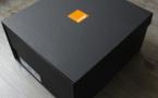 Orange et sa boite à capturer les émotions de Noël