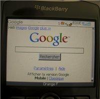 Nouvelle Home Page pour Google Mobile