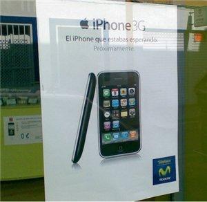 Déjà 300 000 réservations d'iPhone 3G pour Telefonica et les premières pubs