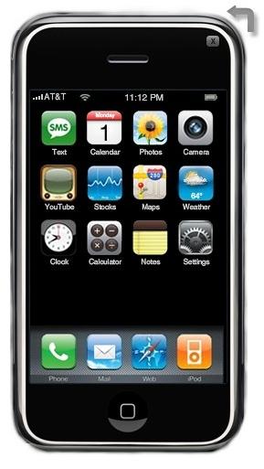 Depuis ce soir j'ai un iPhone , enfin un AIR iPhone