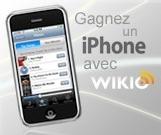 Wikio offre un iPhone, il suffit juste de participer au tirage au sort