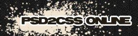 PSD2CSS Online - convertissez un fichier PSD en HTML + CSS