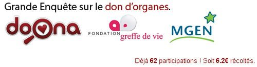 Doona propose une étude pour le don d'organe