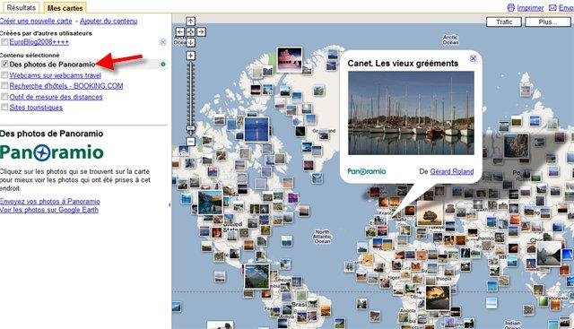 Vu comme ça, Google Maps devient beaucoup plus ..... visuel :)