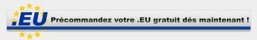Votre NDD à l'échelle Européenne gratuitement chez OVH