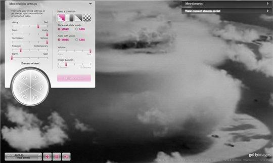 Moodstream - Parcourez les images selon votre humeur