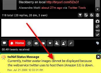 Twitter communique mal avec les utilisateurs, Twhirl, du moins Seesmic, le fait beaucoup mieux