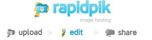 Rapidpik - Stockage et partage de photos en ligne gratuit
