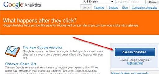 Google nous simplifie la connexion sur Google Analytics