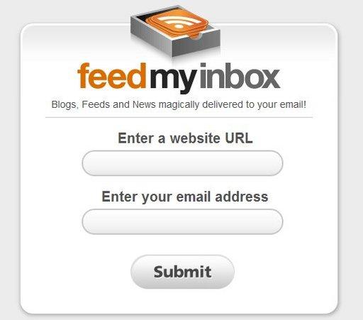 Feed my Inbox - Recevoir des flux RSS par mail mais ...